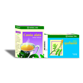 Cassia alata Herbal Tea