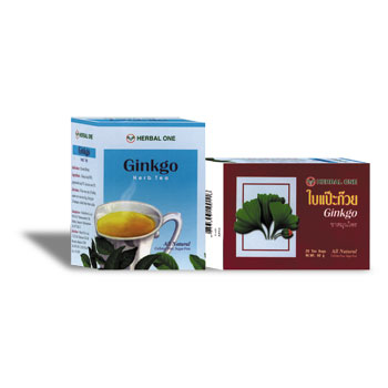 Gingko Biloba Leaf Herbal Tea